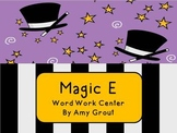 Magic E: Word Work Center Activities