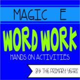 Magic E Word Work Centers