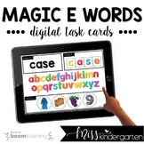 Magic E Boom Cards™ for Distance Learning