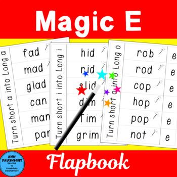 Magic E Words Flapbooks