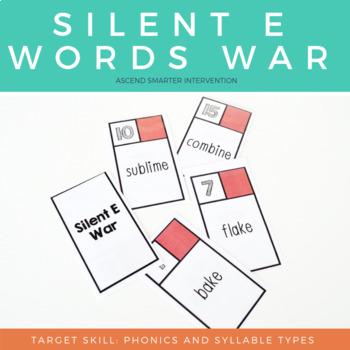Silent E Words War