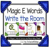 Magic E Words-Write the Room