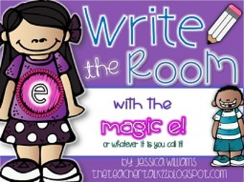 Magic E Write the Room