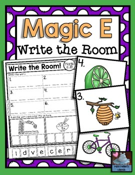 """Magic E"" Write the Room"