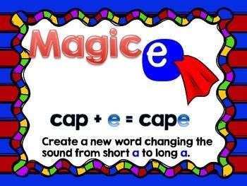 Magic E (long A) Make A Word