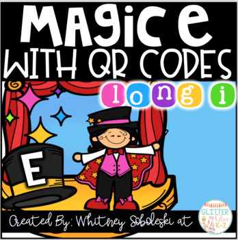 Magic E with Long I QR Codes