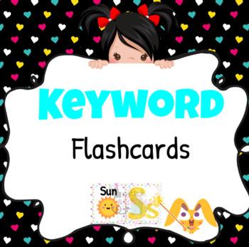 Magic Ears Level 1 Lesson ST Printable Keyword Flashcards
