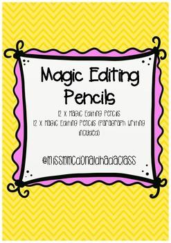 Magic Editing Pencils