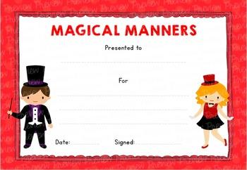 Magical Effort! Certificate