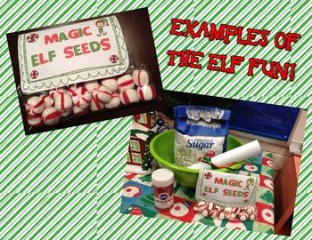Magic Elf Seeds - Holiday Elf Fun! {Fun Letter from Santa}{Bag Toppers}{& MORE}