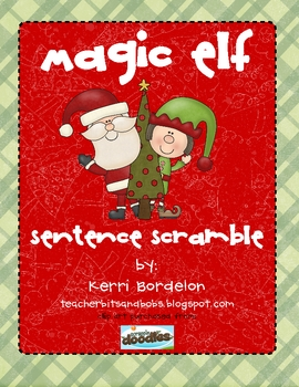 Magic Elf Sentence Scramble
