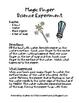 Magic Finger Science Experiment