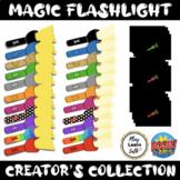 Magic Flashlight Clipart Collection for Boom Card creators