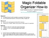 Magic Foldable Organizer How-to