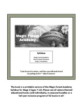 Magic Forest Academy Stage 2 Syllabus (FREE - Printable Version)