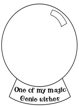 Magic Genie Writing