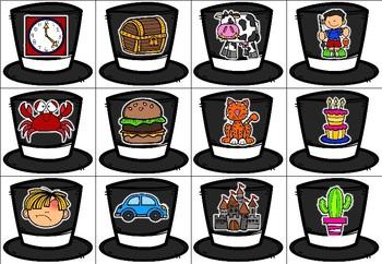 Magic Hat - A Phonemic Awareness Game