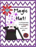 Magic Hat! A Differentiated Orton-Gillingham Inspired Short A Word Game