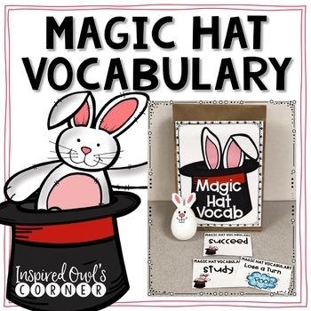 Magic Hat Vocabulary Freebie