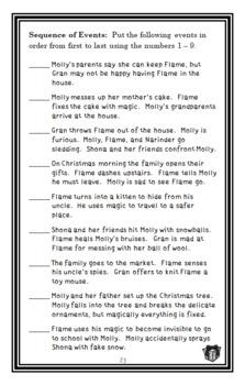 Magic Kitten: A Christmas Surprise (Sue Bentley) Novel Study / Comprehension