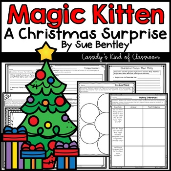 Magic Kitten A Christmas Surprise Novel Study