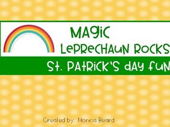 Magic Leprechaun Rocks - St. Patrick's Day Fun