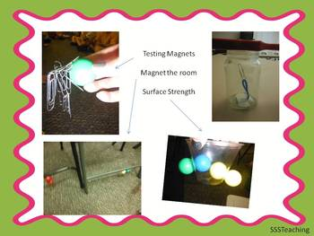 Magic Magnet Science Stations!