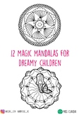 Magical Mandalas Coloring Pages
