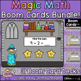 Magic Math: Addition and Subtraction Boom Cards Bundle