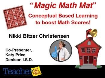 Magic Math Mat Activity Book CAMT 2014