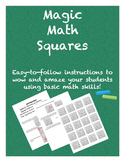 Magic Math Squares Pack