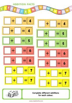 Magic Maths Dice
