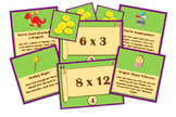 Magic, Mayhem, and...Math! : Multiplication Facts (An Adventure Math Game!)