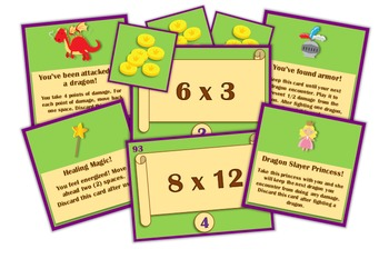Magic, Mayhem, and...Math! : Multiplication Facts (An Adventure Math Game!)