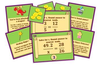 Magic, Mayhem, and...Math! : Solving Proportions (A Math Adventure!)