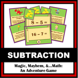 Magic, Mayhem, and...Math! : Subtraction Facts (A Math Adventure!)