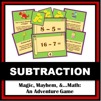 Magic, Mayhem, and...Math! : Subtraction Facts (A Math Adv