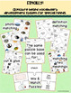 Homonyms: Multiple Meaning Vocabulary Picture Activities A