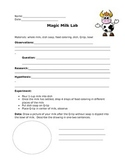 Magic Milk Lab