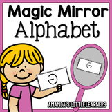 Magic Mirror Alphabet Cards
