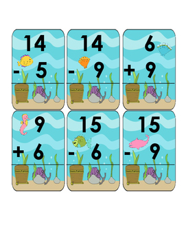 Magic Nines and Related Subtraction Facts Go Fish!