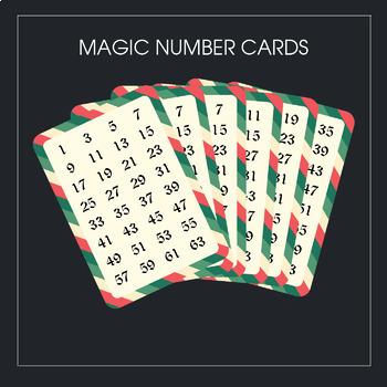 Magic Number Cards (vectorial pdf file)