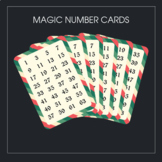 Magic Number Cards [Number Guessing Trick] (vectorial pdf file)