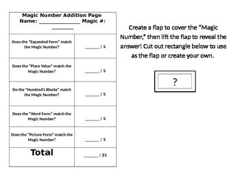 Magic Number Project Page