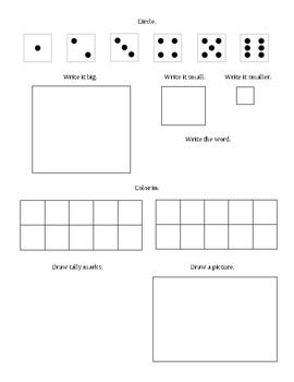 Magic Number Worksheet - number sense