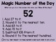 Magic Number of the Day FREEBIE!
