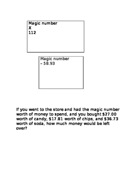 Magic Number of the Day template