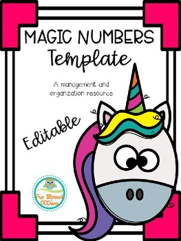 Magic Numbers Templates