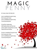 Magic Penny Valentine's Day Song Lyrics Printable