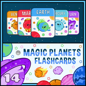 Magic Planets Flashcards